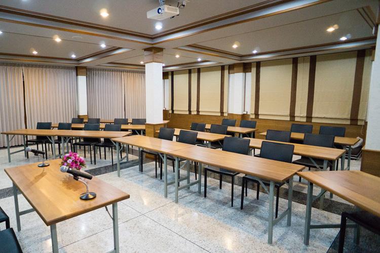 ห้องประชุม บ้านศิริพร รีสอร์ท สมุทรสงคราม อัมพวา